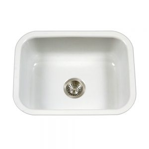 CeraSteel Single Bowl (CER-2318S-WH)