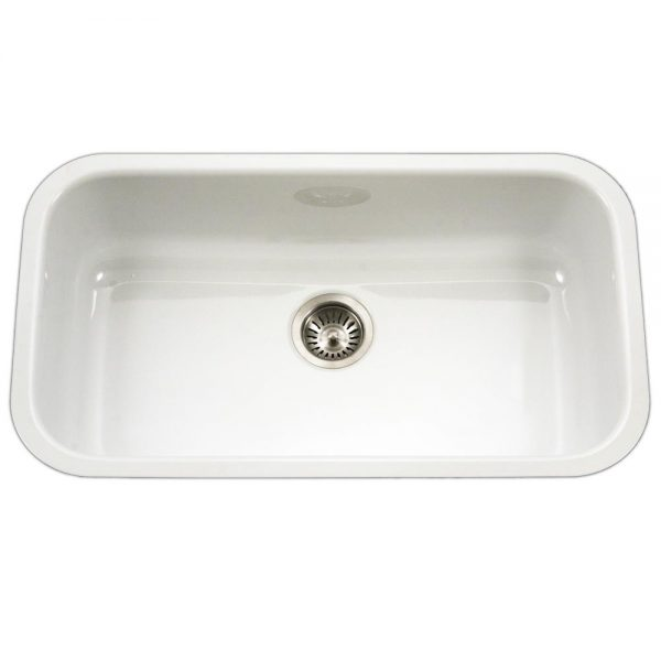 CeraSteel Large Single Bowl (CER-3118S-WH)
