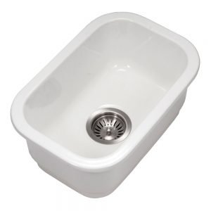 Chelsea Undermount Small Bar/Prep Sink (CHE-1319BU-WH)
