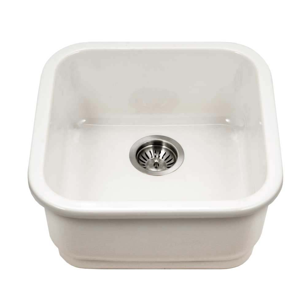 Chelsea Fireclay Undermount Bar Prep Large Sink Hamatusa