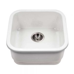 Chelsea Undermount Large Bar/Prep Sink (CHE-1919BU-WH)