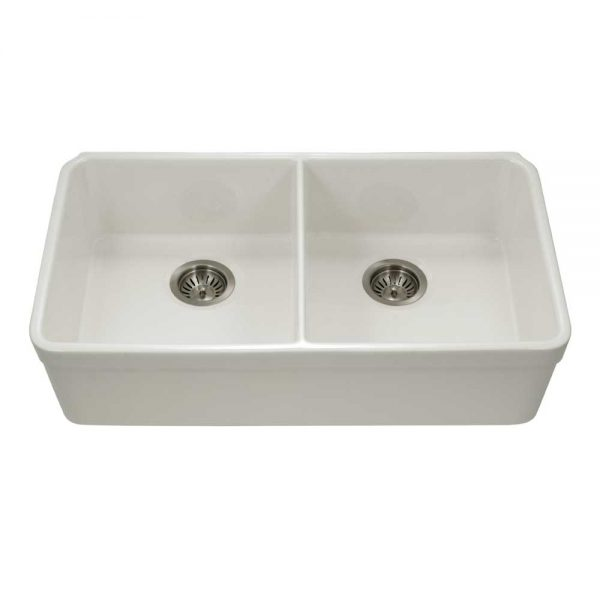 Chelsea Undermount 50/50 Double Bowl with HIGH WALL (CHE-3318DHU-BQ)