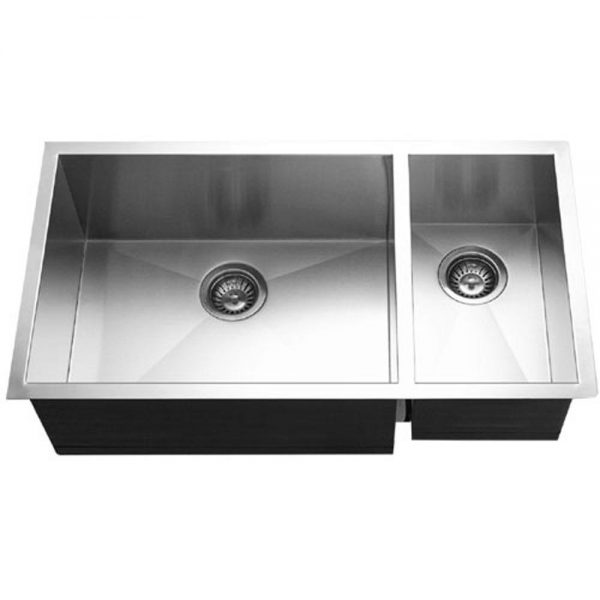 Prizm 70/30 Double Bowl/Prep Sink on Right (PRI-3318DR)