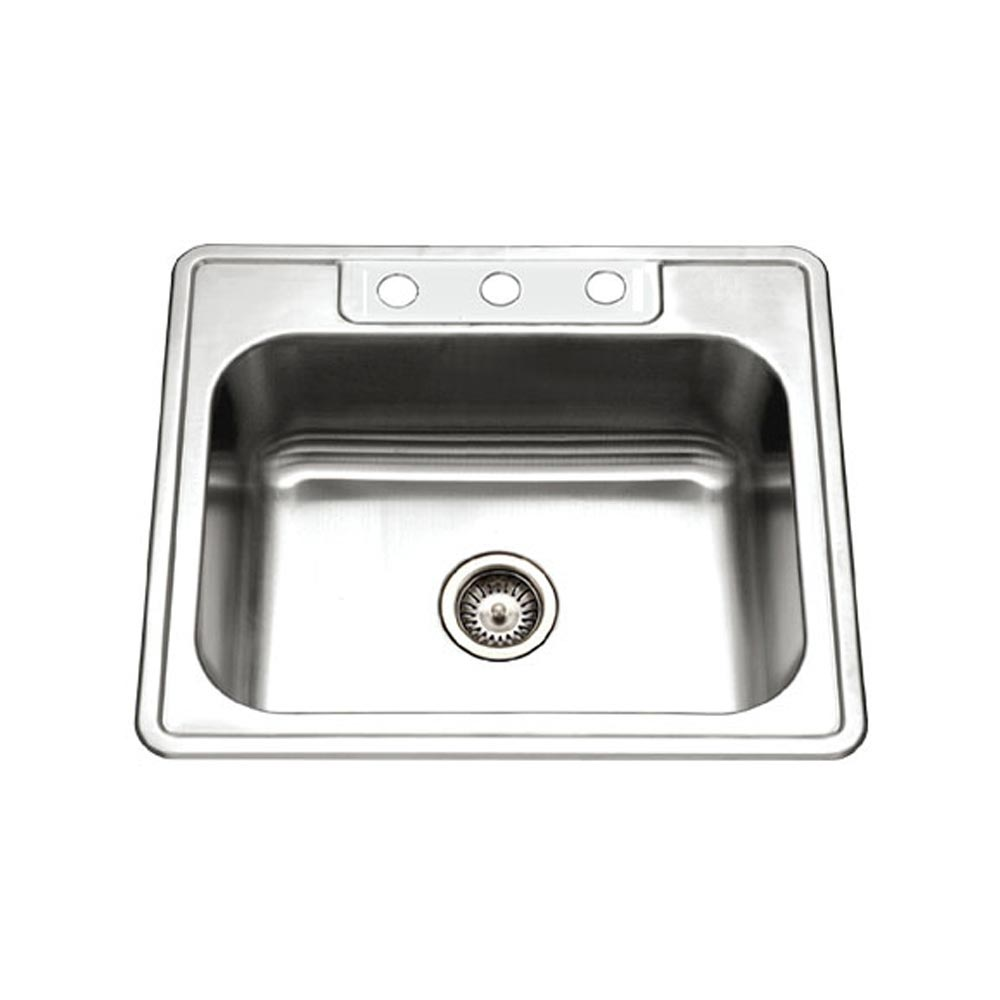 Revive Topmount Stainless Steel Single Bowl Kitchen Sink ...