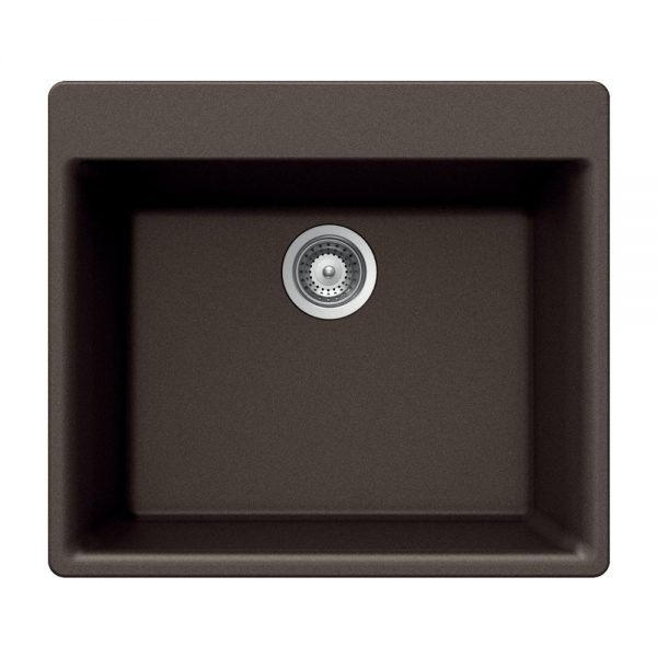 SiOStone Topmount Single Bowl (SiO-2420ST-MO)