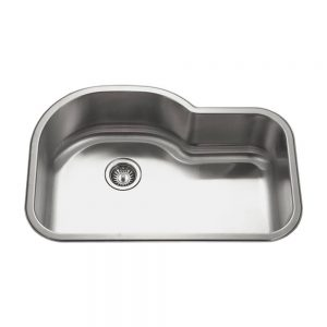 Villa Designer Offset Single Bowl (VIL-3221ST)